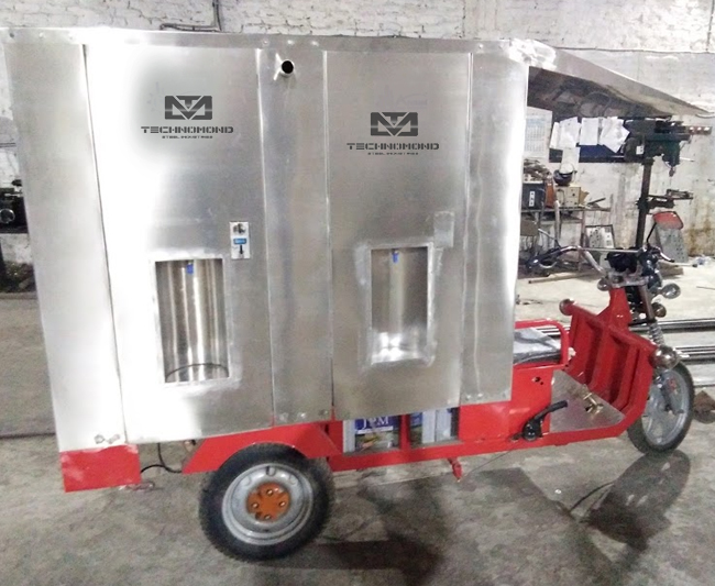 E-Rickshaw Water ATM Machine