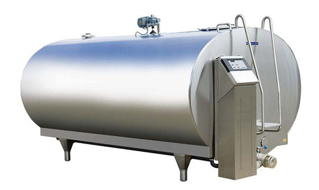 Stainless Steel Milk Tanker